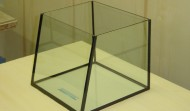 10 gallon Rimless Slope-Front Nano aquarium